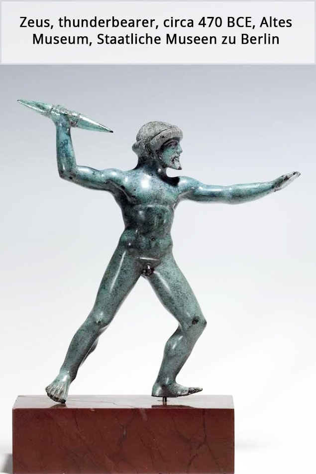 Resources Zeus statuette